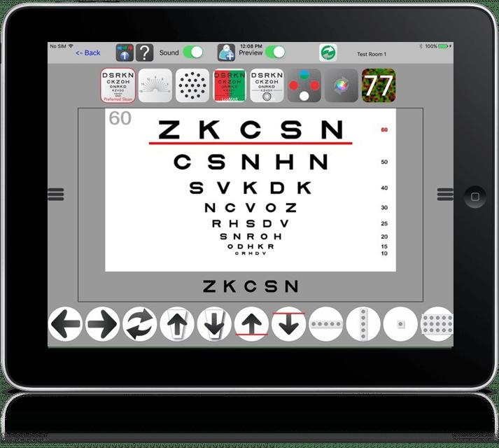 Chart2020 on iPad