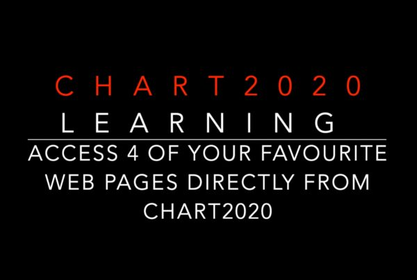Chart2020 allows you to preset 4 of your favourite web pages and access them directly from Chart2020 with a simple key press.